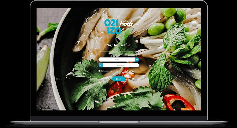 food delivery app management