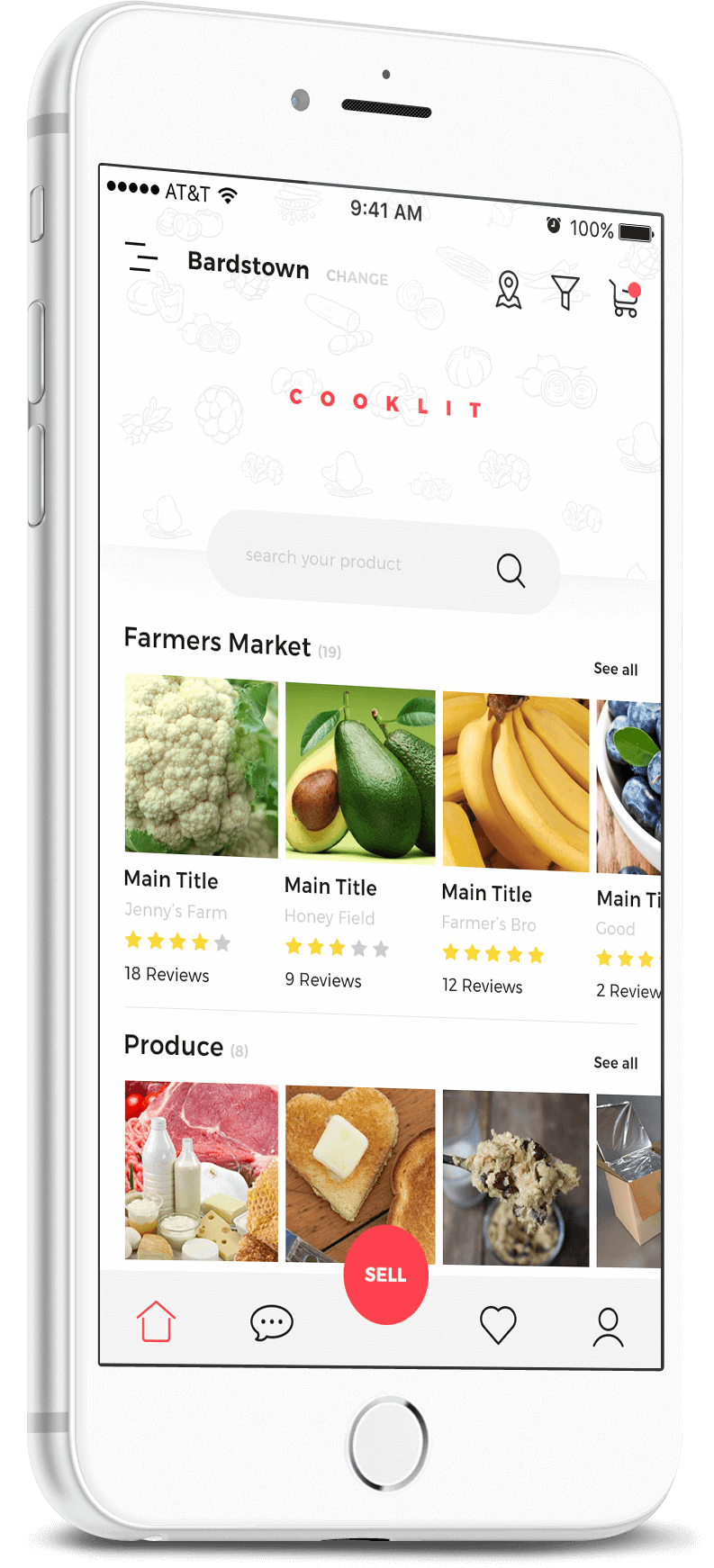cooklit food selling app
