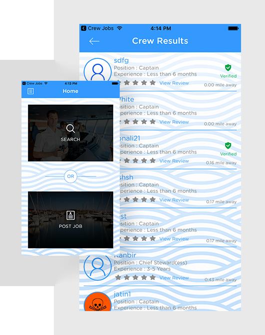 crew compass hire - for captains