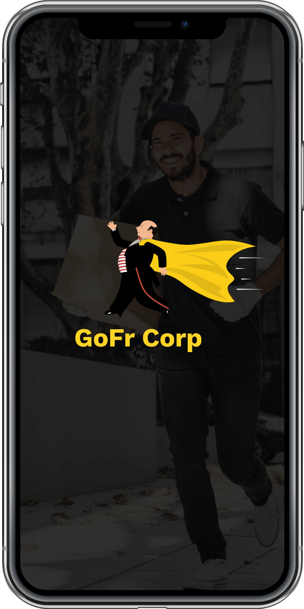 goods delivery app