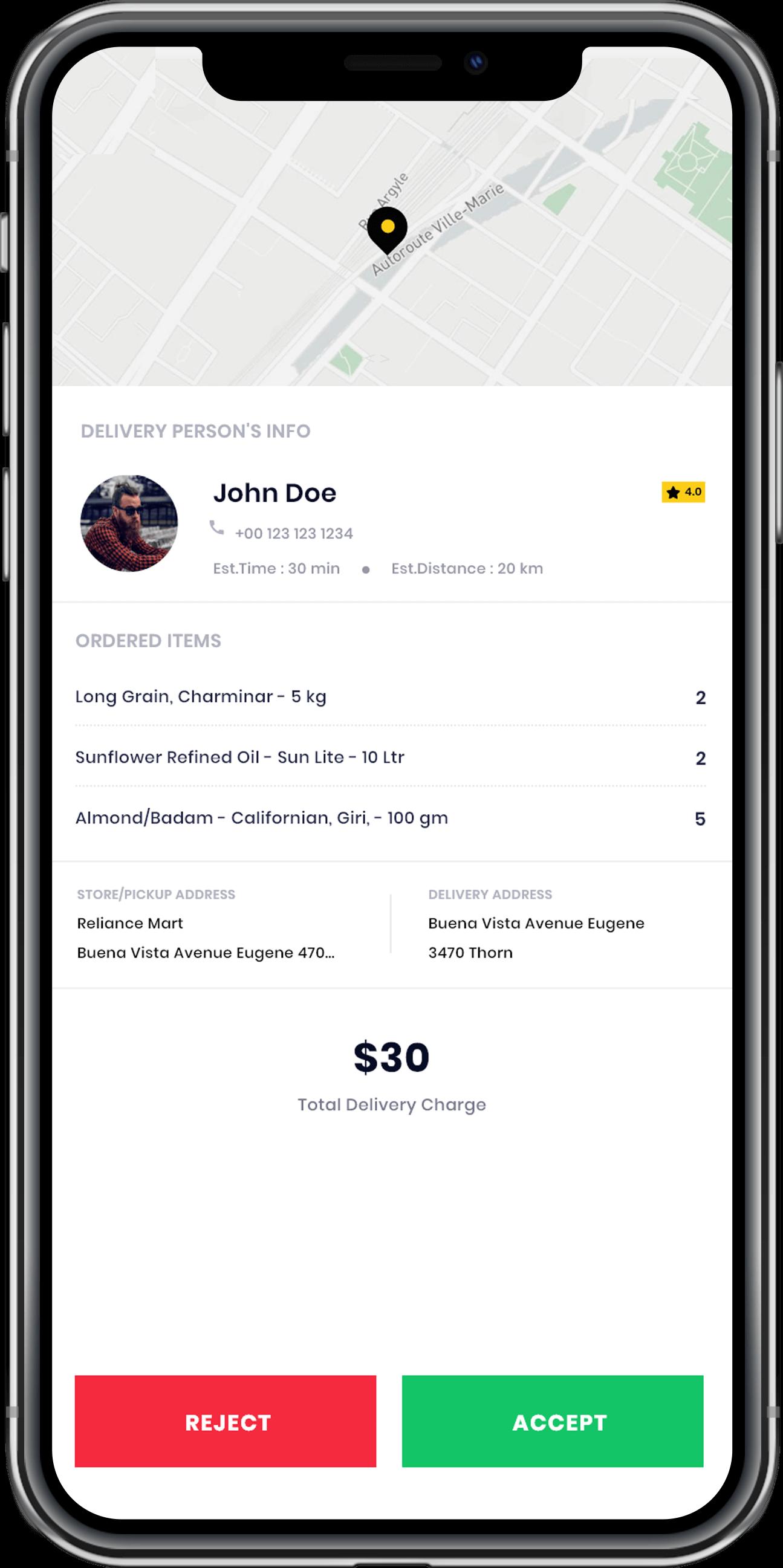 gofr on-demand app