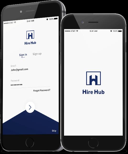product hiring app