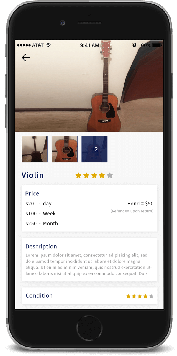 item details