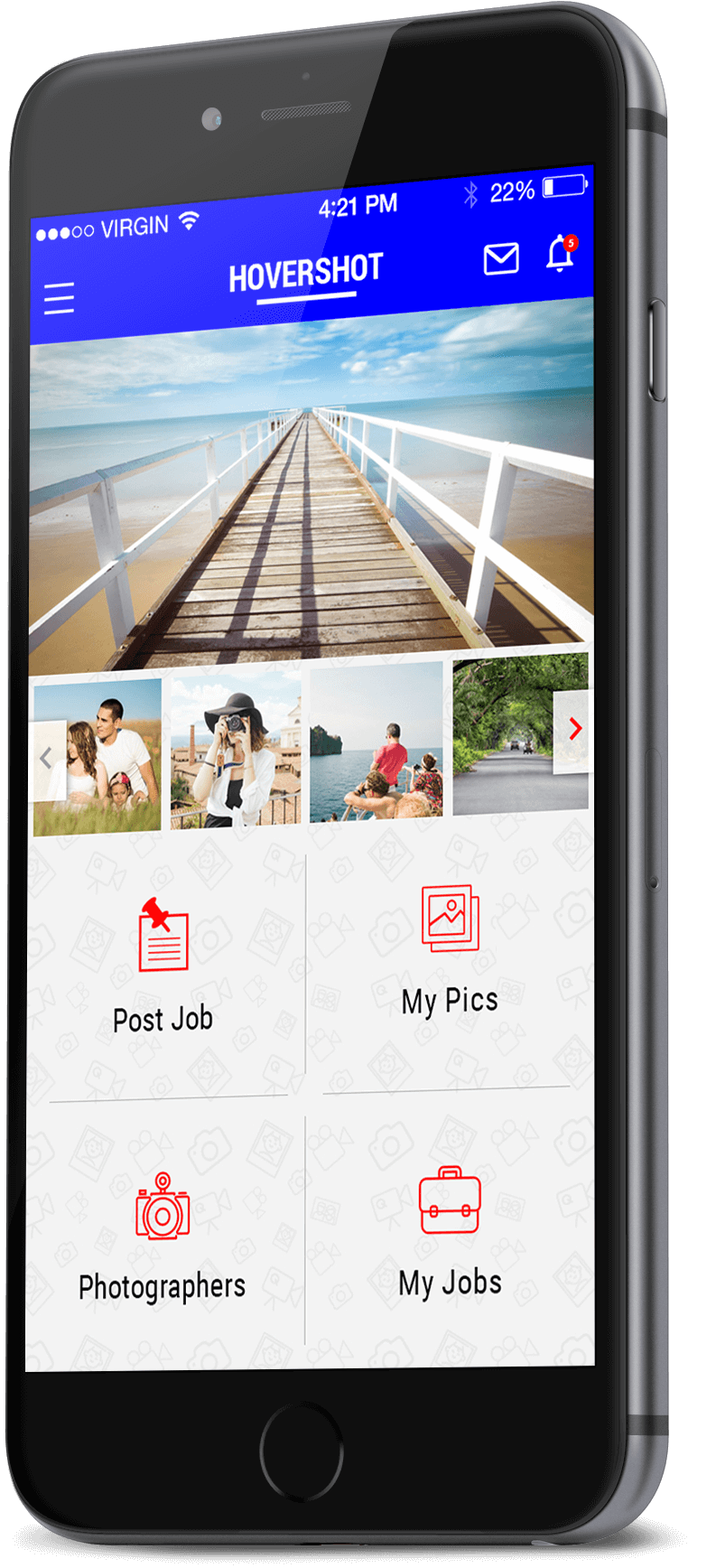 photography booking app
