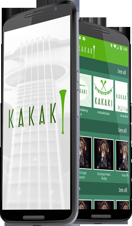 KAKAKI – An Online Music Streaming App | Case Study