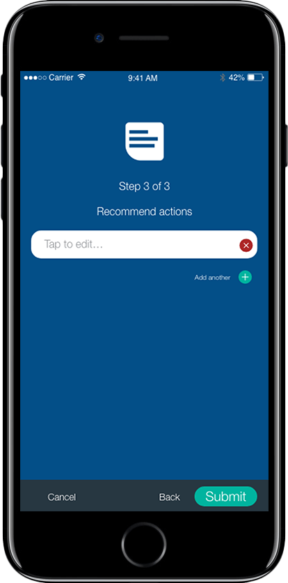 risk and damage management app