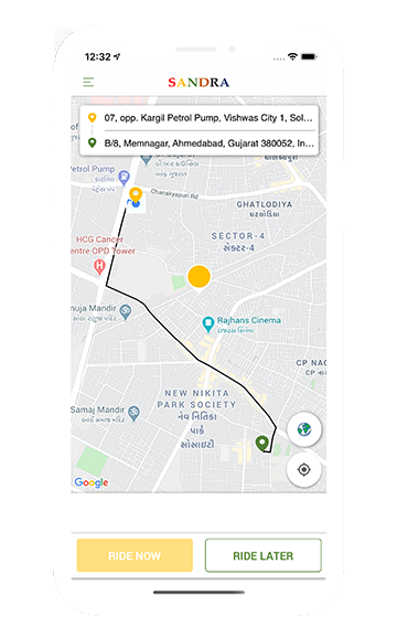 on-demand taxi app