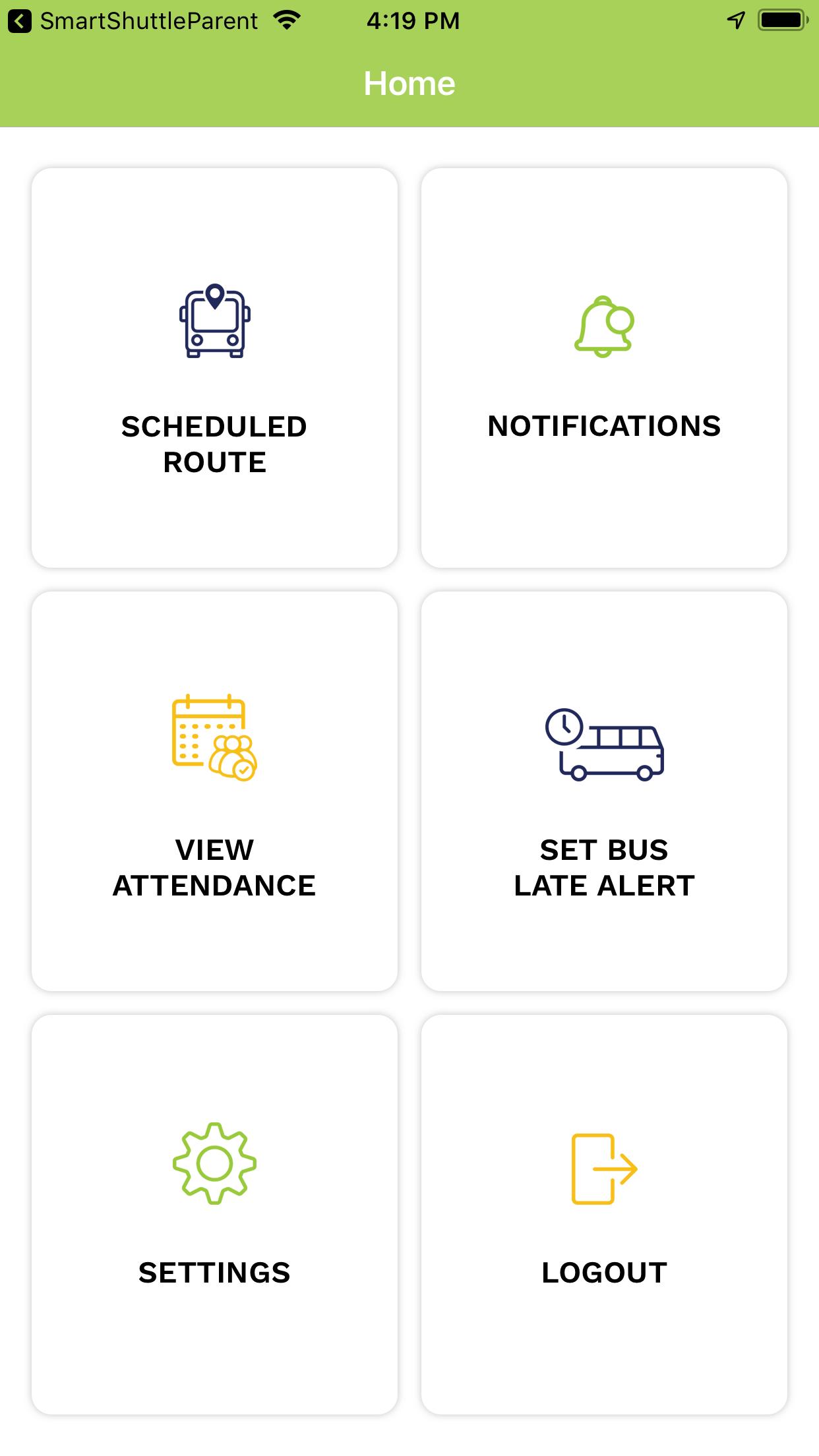 smart shuttle on demand transportation app