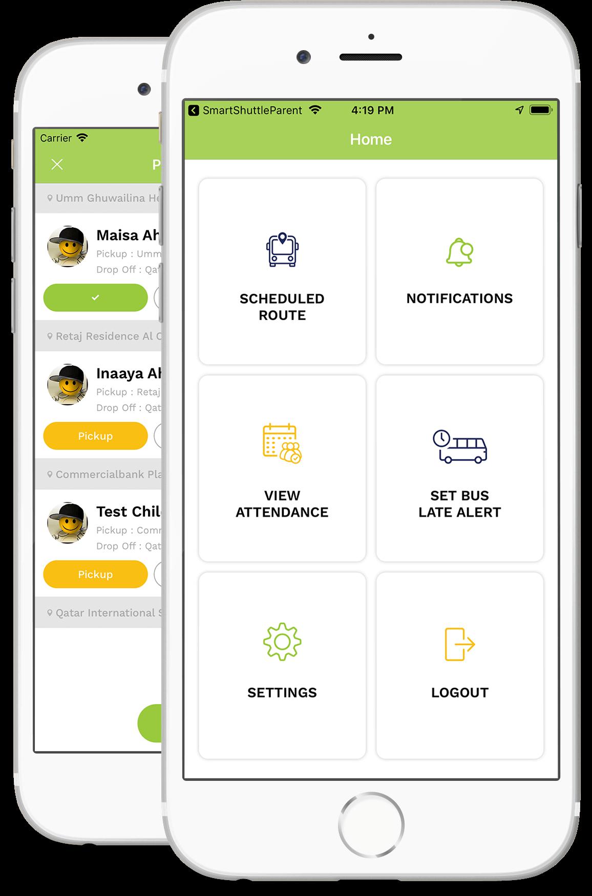 on demand transportation app for kids