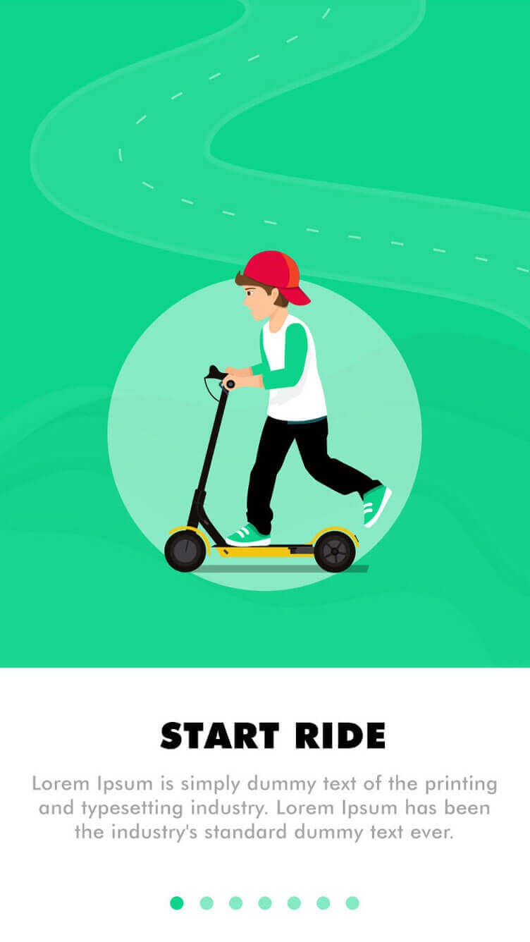 scooter rental app
