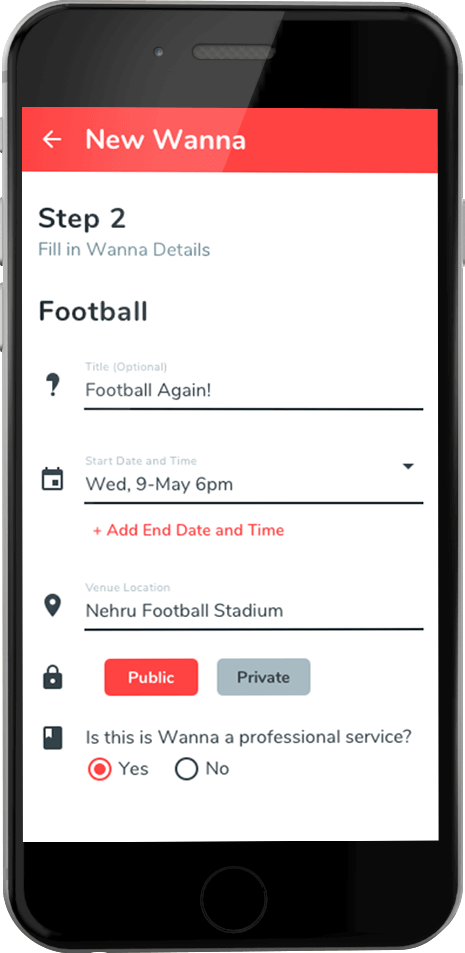online events discovery app