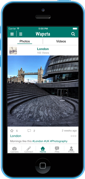 wapsta social media app