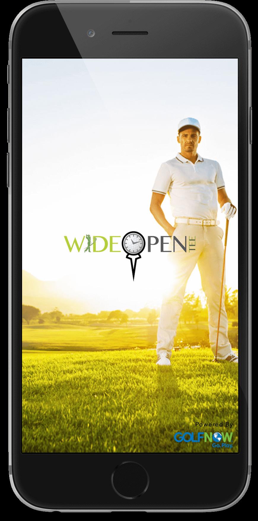 golf ground booking app
