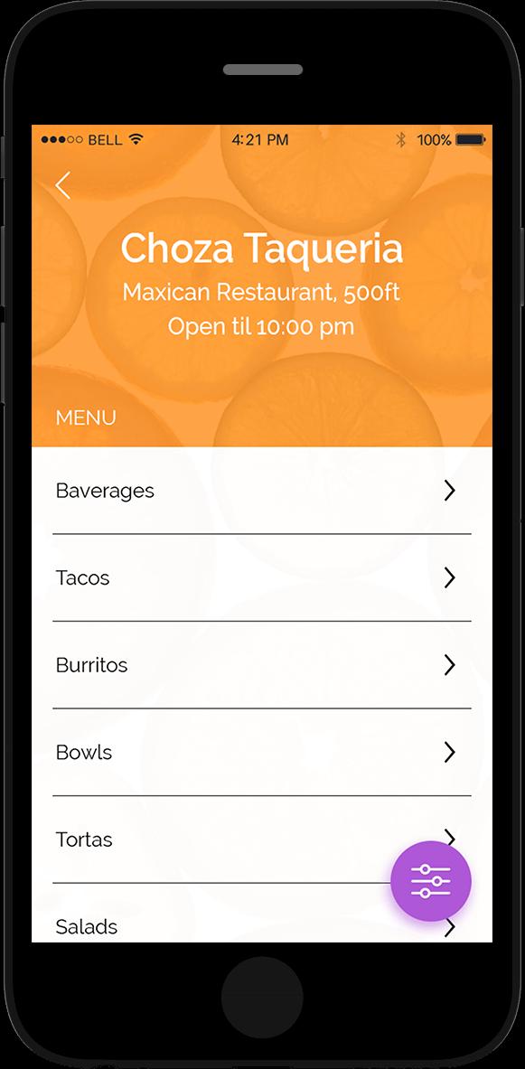 restaurant profile