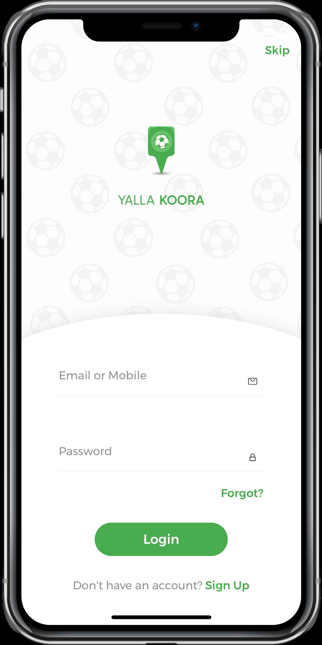 playground reservation app