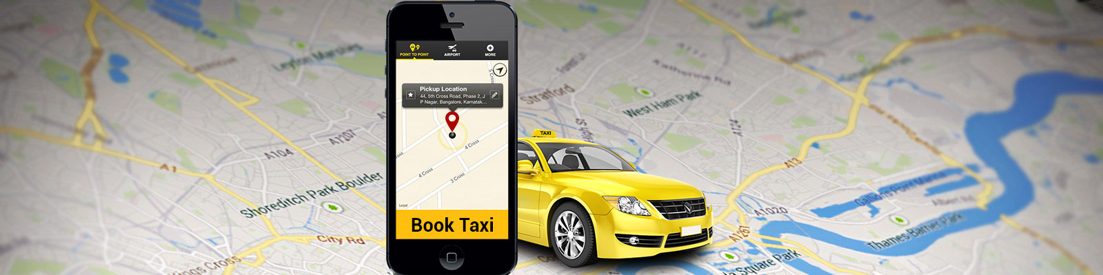 Develop Taxi Booking Mobile App For Your Business