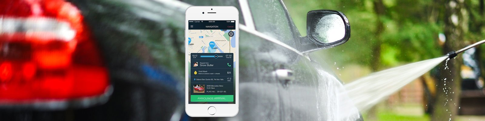 car washing on-demand apps