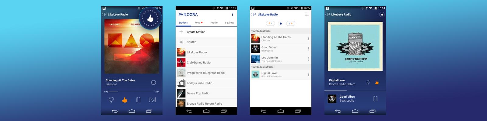 pandora app development