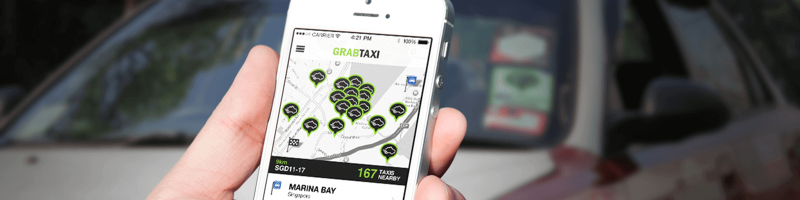 application like grab taxi