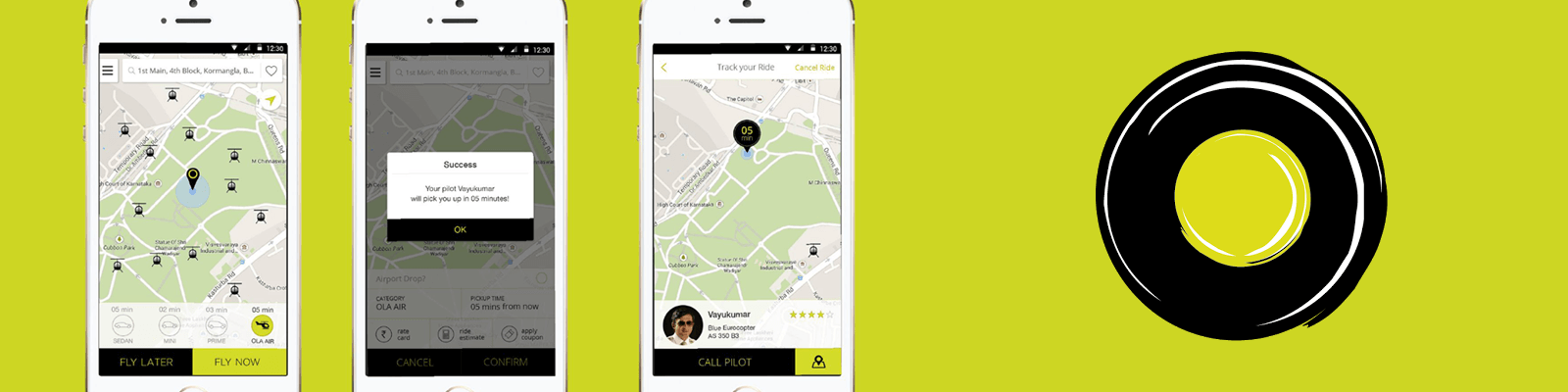 ola app development cost