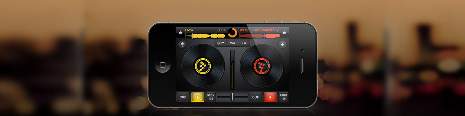 cross dj app development