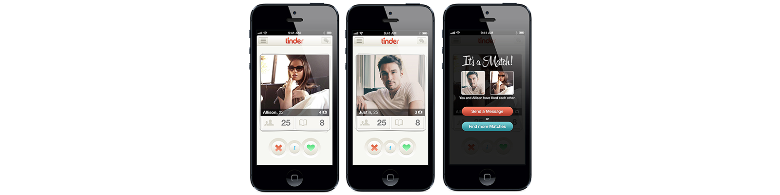 tinder application development