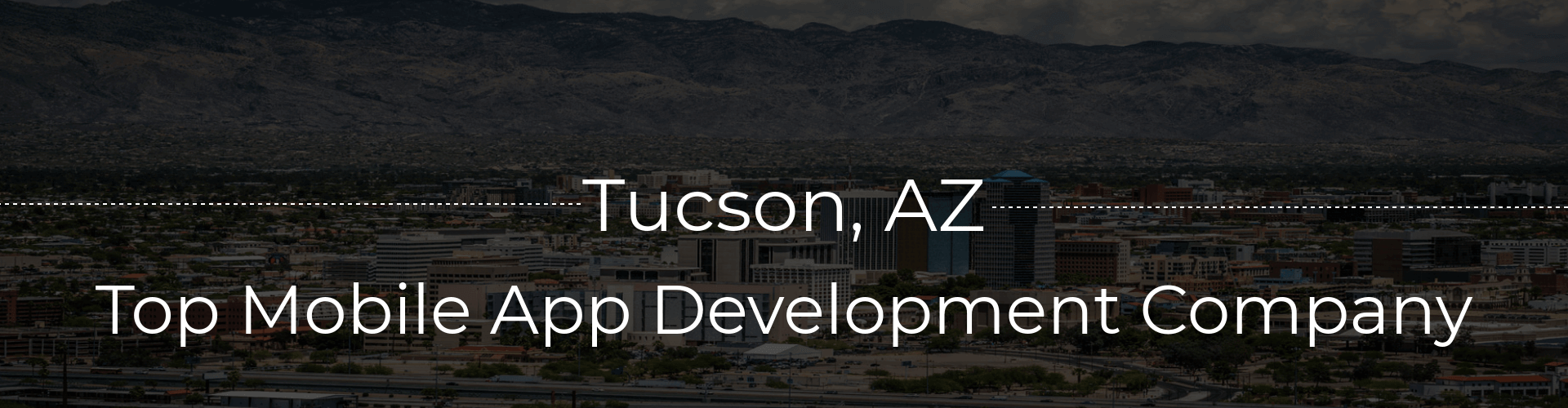 mobile app development company tuscon