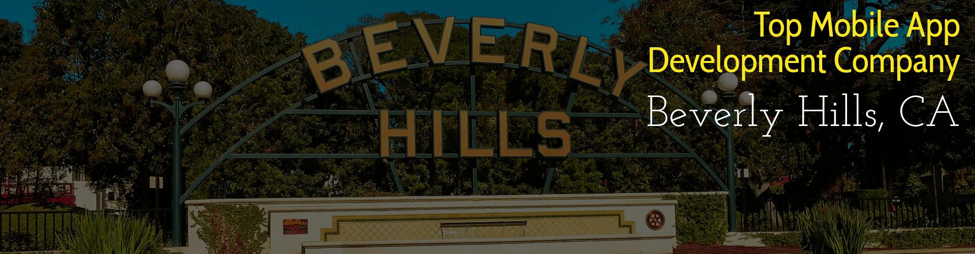 app developers beverly hills ca