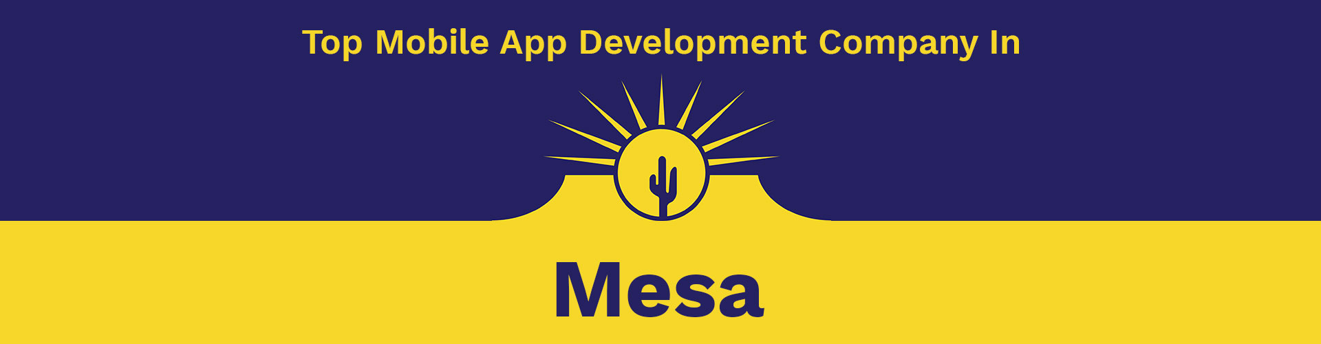 mobile app development company mesa