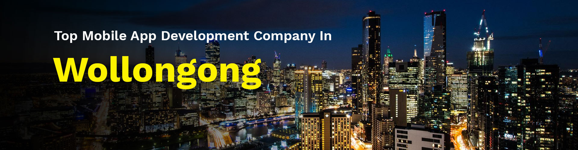 mobile app development company wollongong