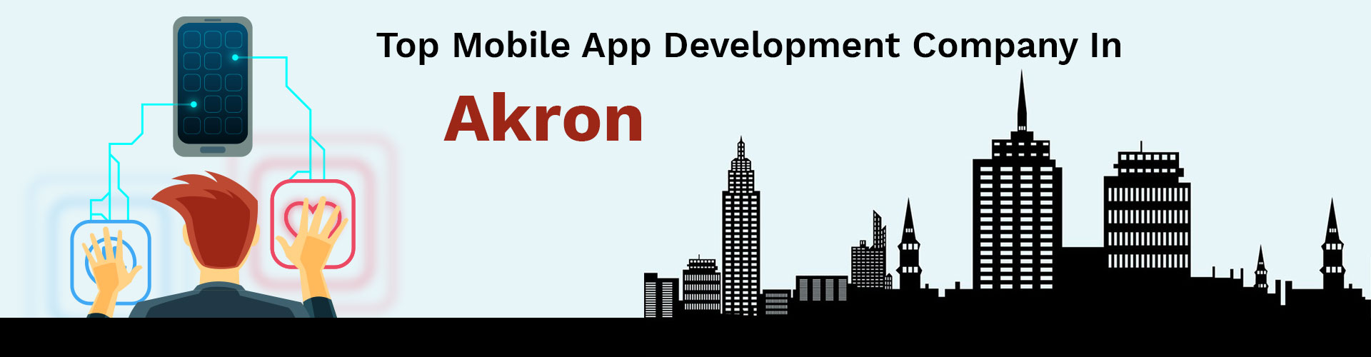 mobile app development company akron