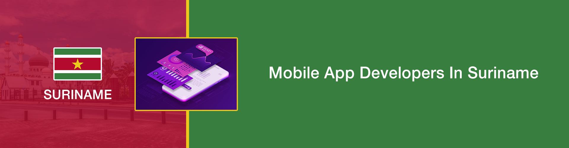 mobile app development suriname