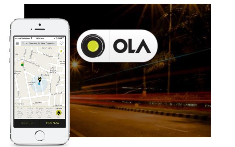 app like ola cost