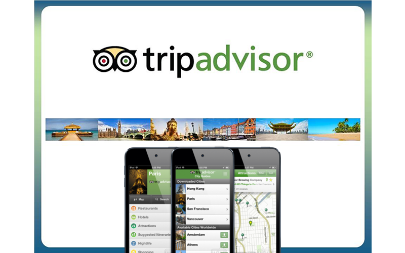 app like trip adviser cost