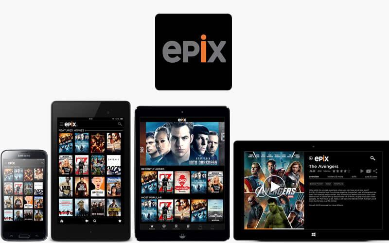 epix app