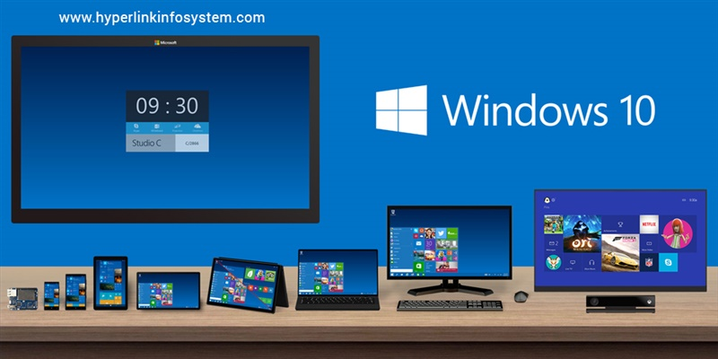 Some great features of the newly launched Windows 10- Get updated with Hyperlink Infosystem