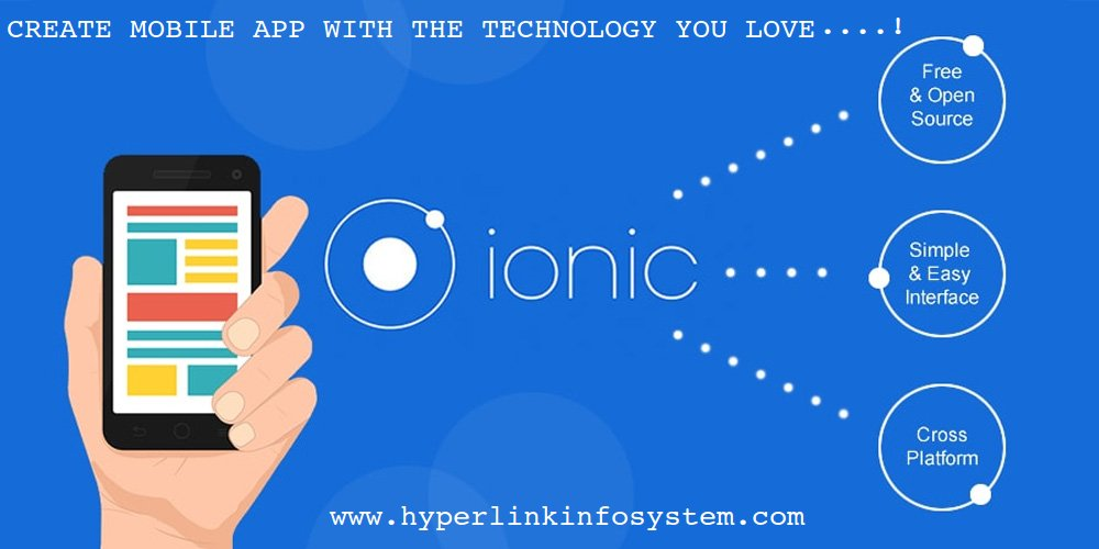 Create mobile application with the technology you are in love with – Know Ionic Framework which is something above code.
