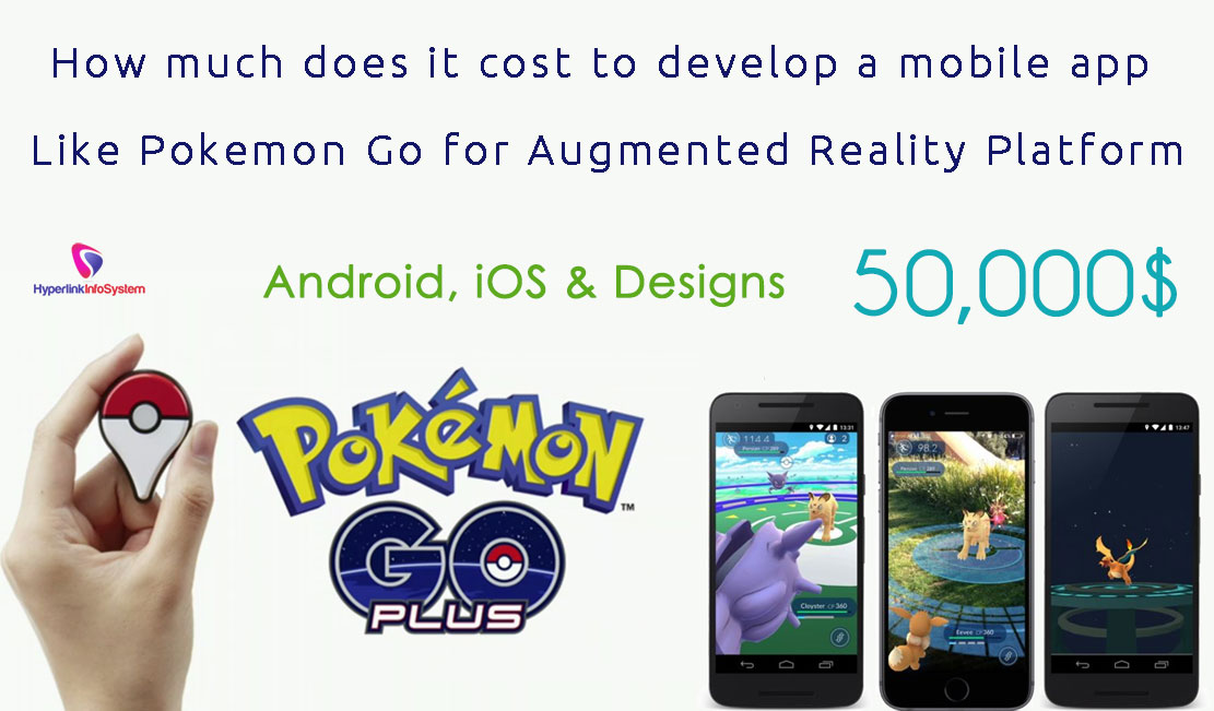 How much does it cost to develop a Mobile game app like POKEMON GO for Augmented reality platform