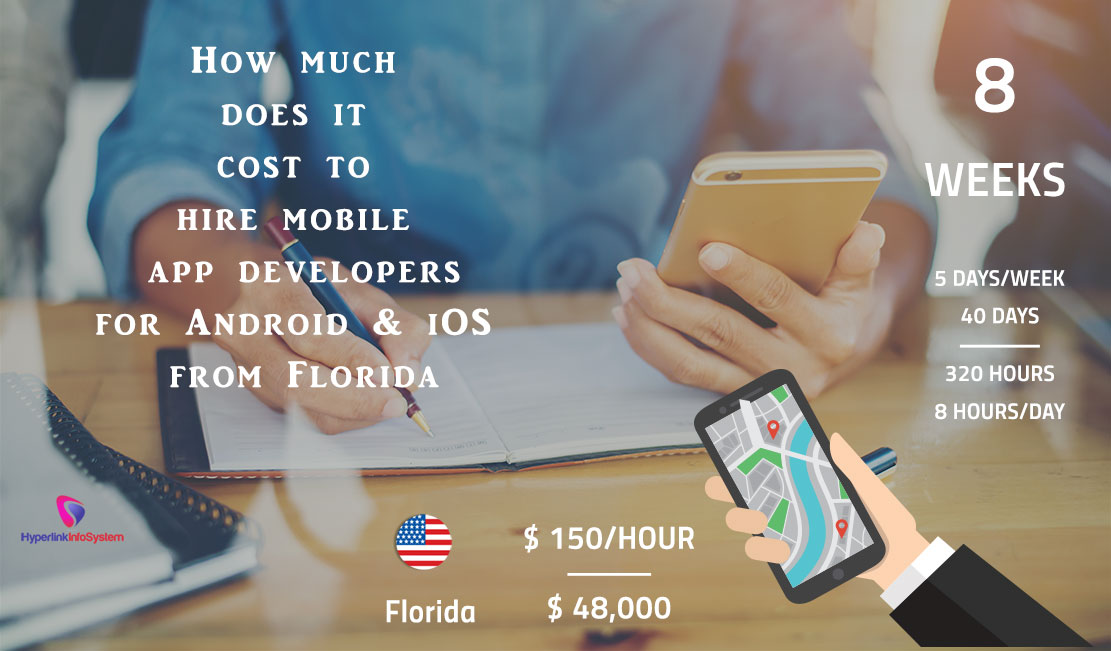How Much Does it Cost to Hire Mobile App Developers for Android and iOS from Florida