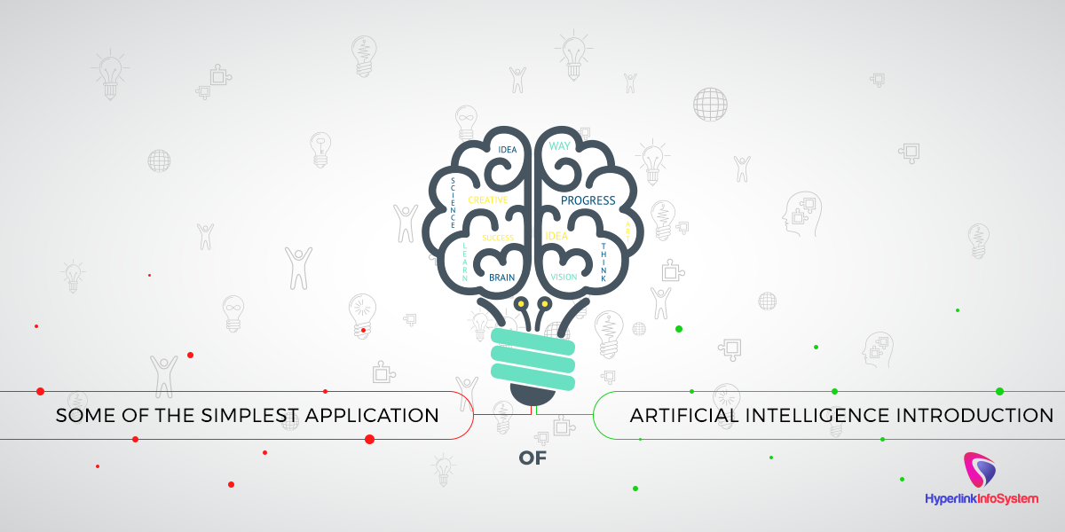 some of the simplest application of artificial intelligence introduction