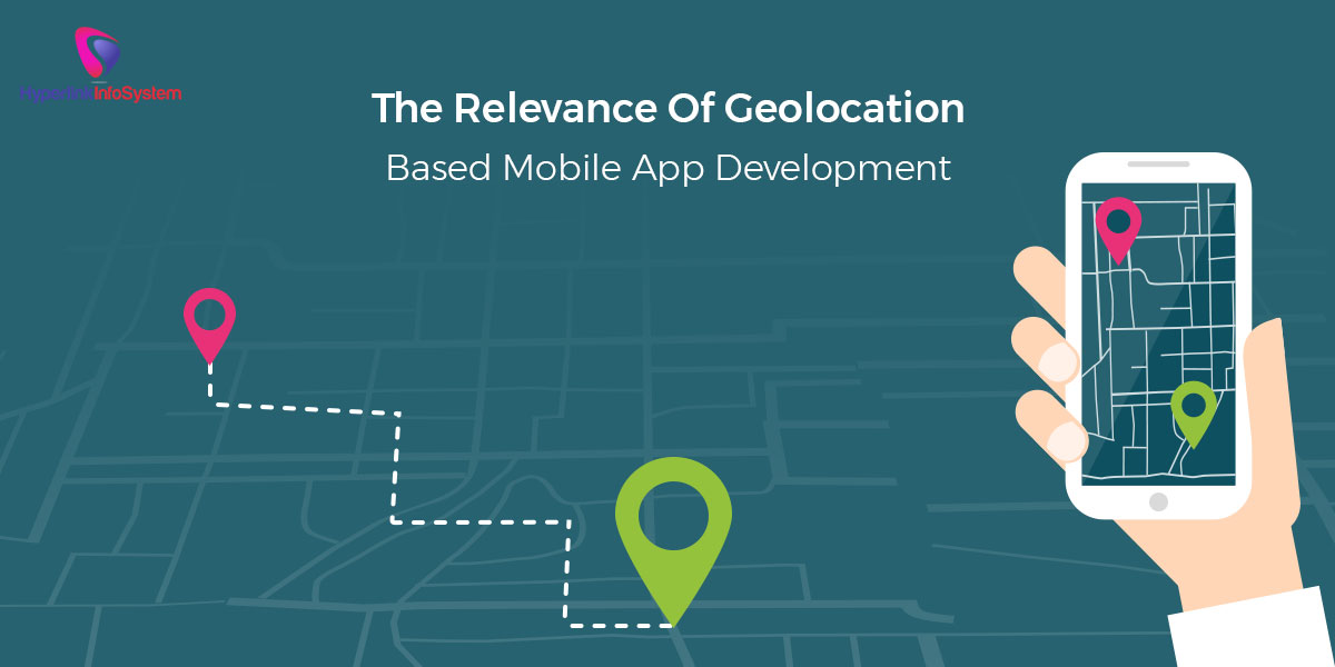 geolocation based mobile app development