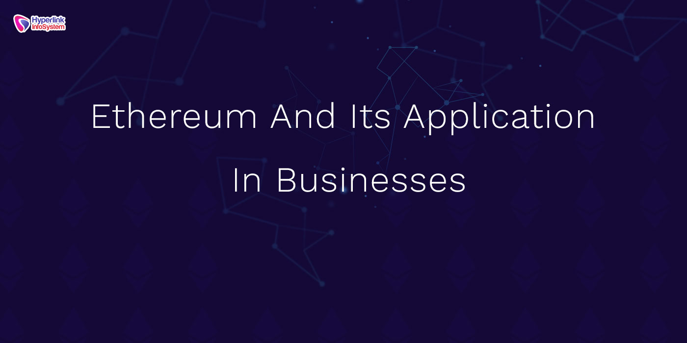 ethereum app in business
