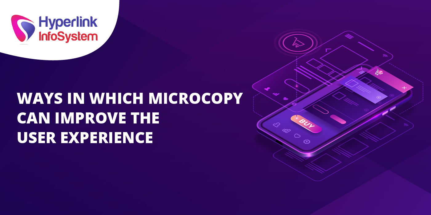 ways in which microcopy can improve the user experience