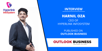 interview of harnil oza ceo of hyperlink infosystem published on outlook business