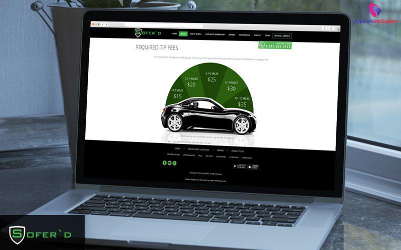 taxi booking website development
