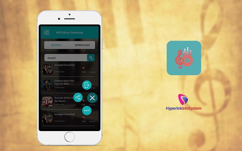 music streaming app development