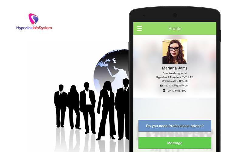 professional social networking app