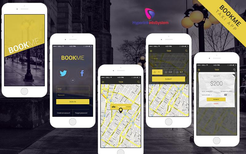 BOOK ME - A TAXI BOOKING