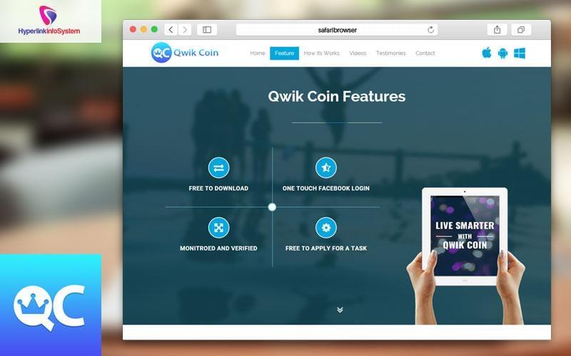 qwikcoin website