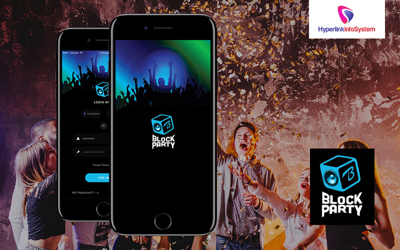 online party finding app